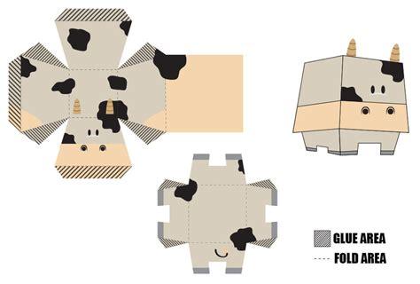 Papercraft Cow - cow paper by ikantenggelem on deviantart