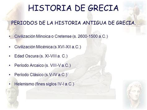 historia de los griegos 849759536x periodos de la historia antigua de grecia ppt descargar