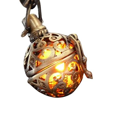 Where To Get The Best Deal On Gift Cards - steunk fire necklace pendant charm locket jewelry great gift jewelry fashion