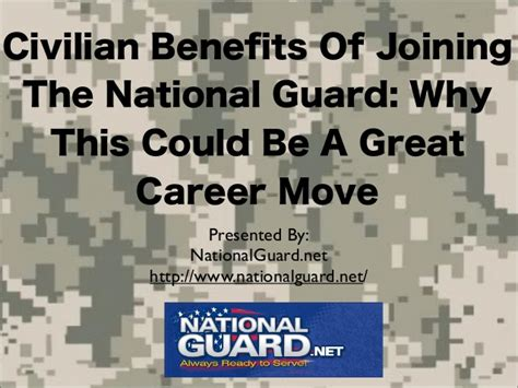Can You Join The National Guard With A Criminal Record Civilian Benefits Of Joining The National Guard Why This Could Be A