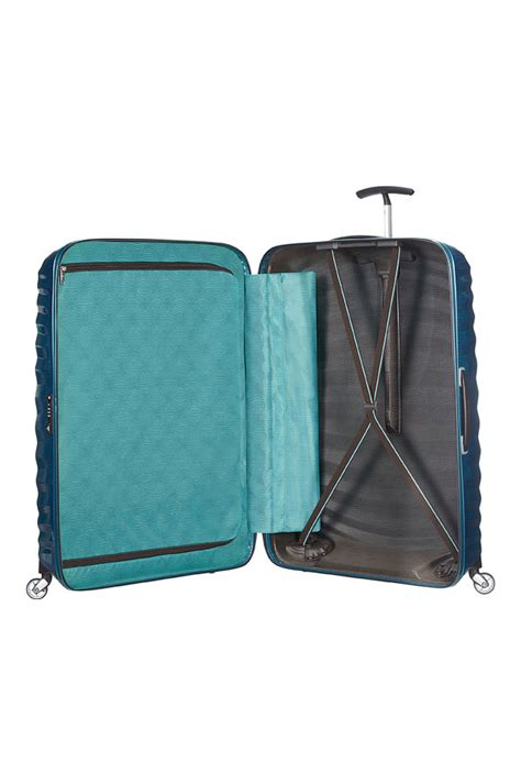 Petrol Blue Oversized Shopper From Oasis by Samsonite Lite Shock 81cm Large Spinner Suitcase