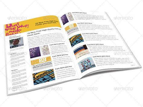 tutorial indesign jornal tutorials magazine indesign template by depautamadre