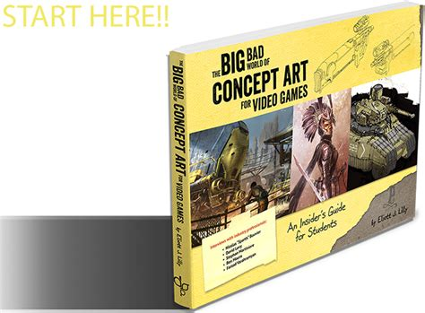 the big bad world of concept for how to start your career as a concept artist books buy the big bad world of concept
