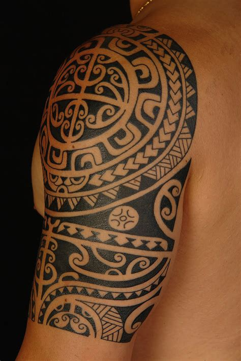 aztec tribal arm tattoos maori arm
