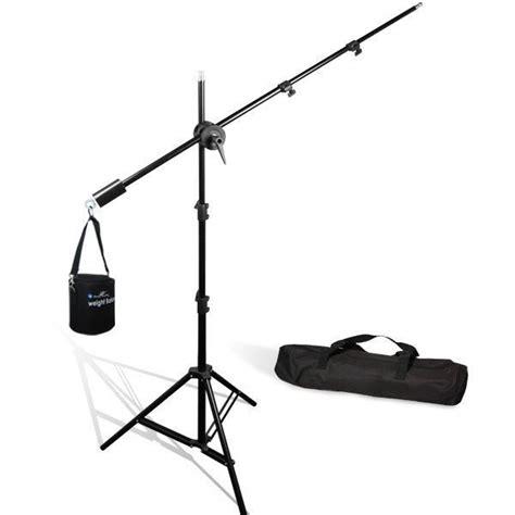 photography light stand lusana studio lighting stand overhead boom light stand