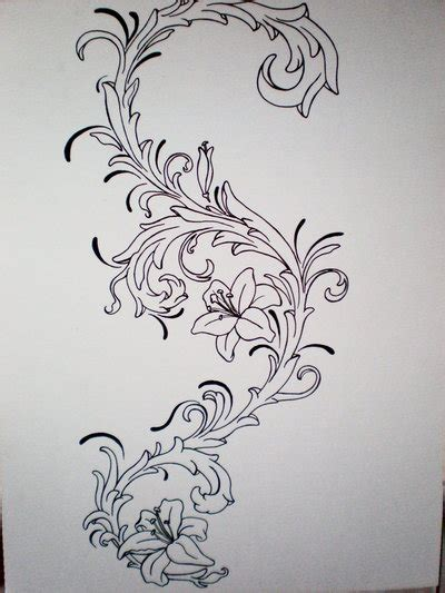 filigree tattoo designs the gallery for gt filigree designs