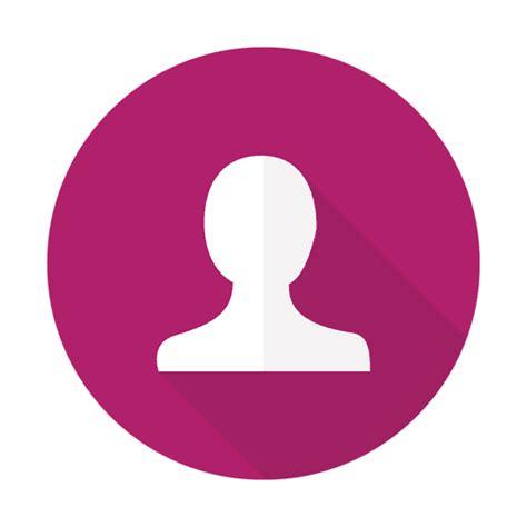 imagenes png usuarios signo de usuario plana con fondo redondo descargar png