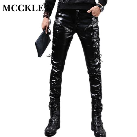 Aliexpress Com Buy Mcckle New Winter Mens Skinny Biker What To Look For When Buying A Leather Sofa