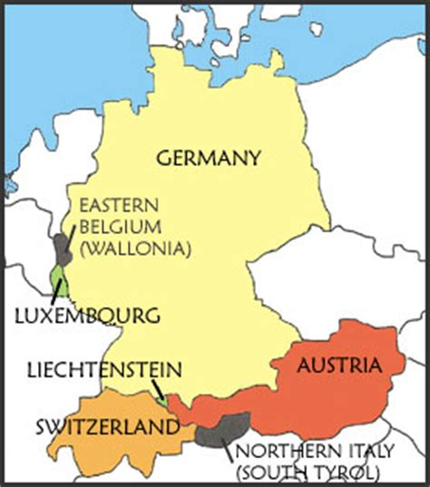 which other countries speak german language german culture learn german speak german