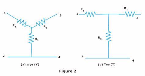 resistor y dan delta delta to wye and wye to delta conversion