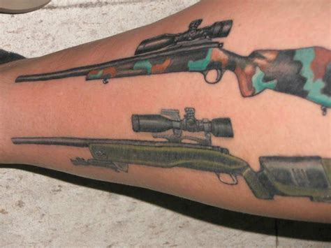 tattoo gun run image gallery hunting rifle tattoo