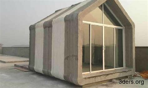 3d print house chinese company assembles 10 3d printed concrete houses in