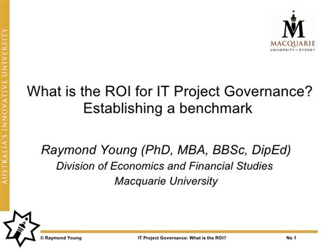Project On Corporate Governance For Mba Students by Value Of It Project Governance