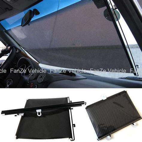 Window Shade Cover Free Shipping New Retractable Car Auto Front Back