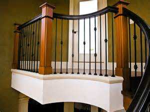 Stair balusters wrought iron interesting ideas for home
