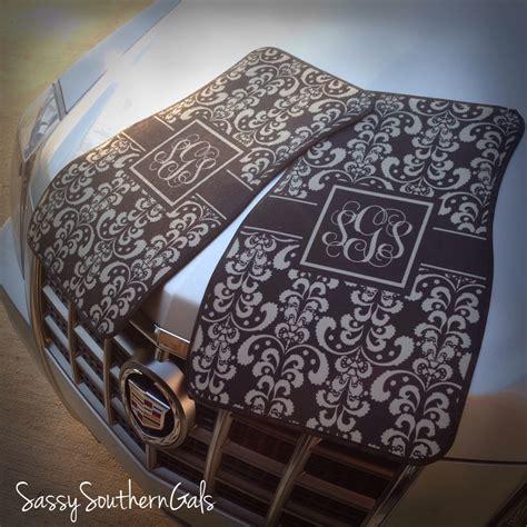 car mats monogrammed personalized car mats 183 sassy