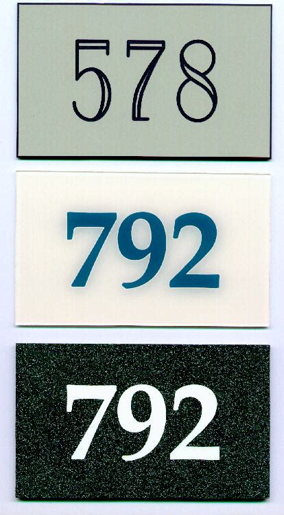 Appartment Number by Large Stainless Steel Apartment Door Numbers 0 5 2