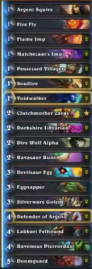hs zoo deck un goro discard zoo deck by thijs hs decks and guides