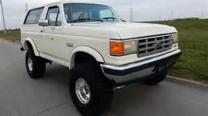 1987 Ford Bronco 1987 Ford Bronco F54 1 Kansas City 2016