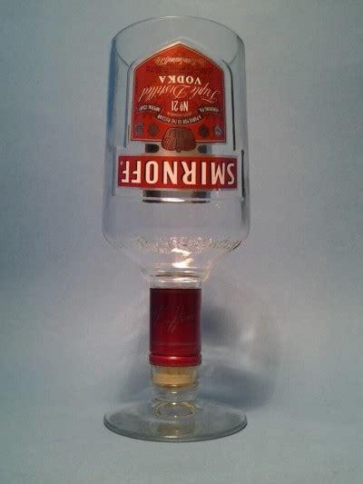 Shisha Botol Smirnoff smirnoff 174 stemmed bottle top wine glass liquor bottle