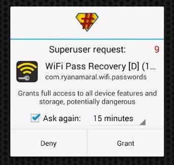 wifi password recovery android how to recover wifi passwords using android device 3 methods