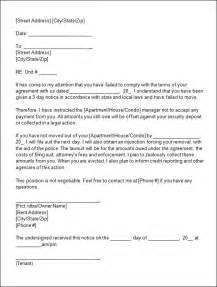 eviction notice template sle eviction notice template 37 free documents in