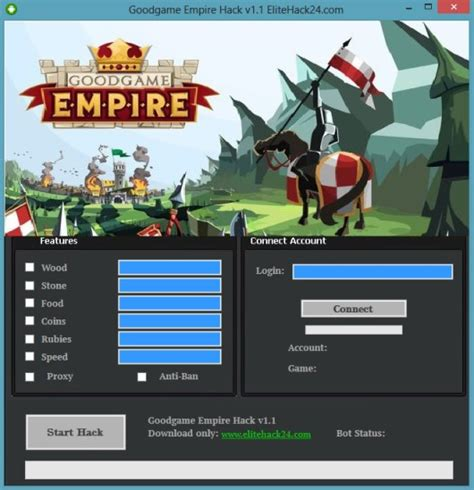 goodgame empire mod goodgame empire hack v1 1 mods features of goodgame