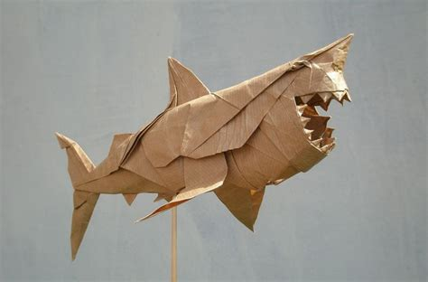 Origami Great White Shark - 17 best images about projects to try on corset