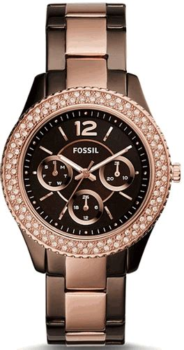 Fossil S Es4079 Original s fossil stella multifunction stainless steel