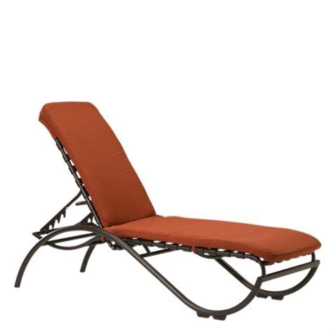 strap chaise lounge chairs pool furniture supply tropitone la scala cross strap pool