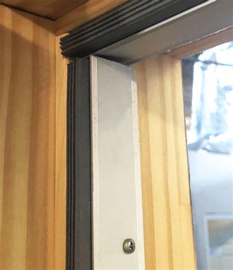 sliding doors seal lowblokk door perimeter seal soundproof direct
