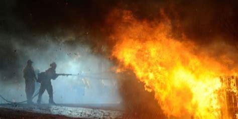 Senter Di Glodok kebakaran di glodok