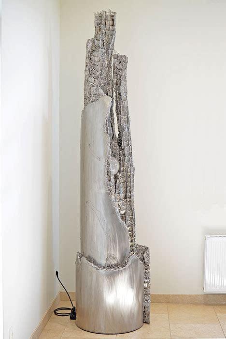 moderne zimmerbrunnen zimmerbrunnen unikate vom metall k 252 nstler kaufen gahr