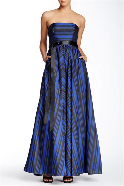 Nordstrom Rack Prom Dresses by Strapless Striped Gown From Nordstrom Rack Prom Collection