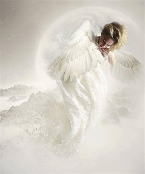 beautiful white angel so elegant angels pinterest
