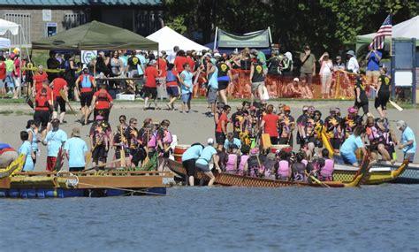 dragon boat racing vancouver dragon boat racing on vancouver lake the columbian