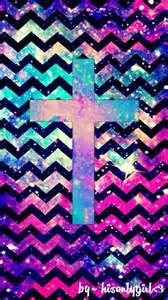 Chevron Galaxy Cross   Easter Wallpaper   Pinterest   Galaxy Cross
