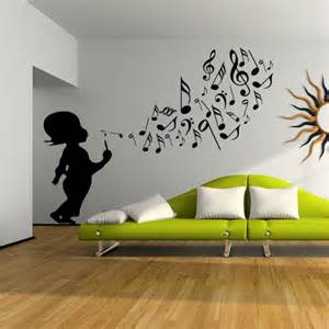 Photo Tree Wall Sticker stickers enfant musique pas cher