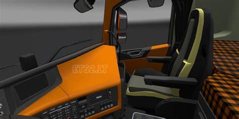 volvo 2012 black orange interior ets 2 mods volvo fh interior ets 2 mods part 23