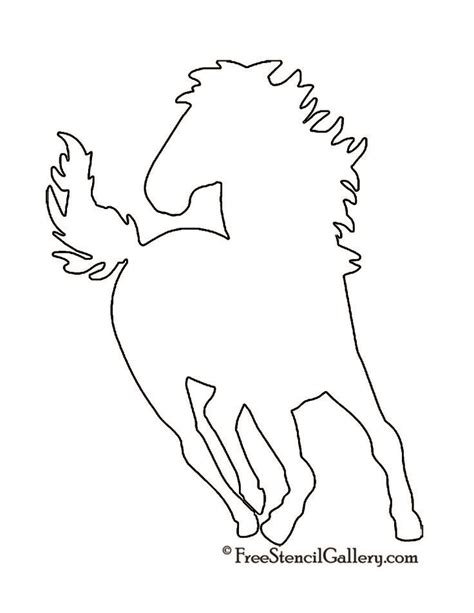 printable stencils of horses 41 best images about stencils on pinterest flower