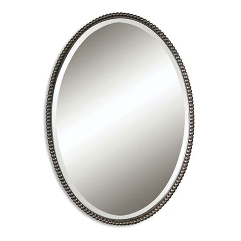 bathroom mirrors images sherise oval mirror uttermost wall mirror mirrors home decor