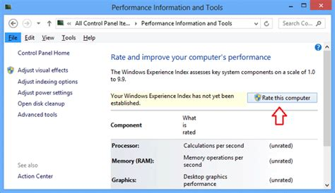 bench mark software rate this computer in windows 8 password recovery