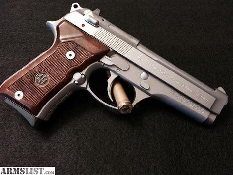 beretta 92fs wood grips armslist for sale trade lnib beretta 92 inox compact