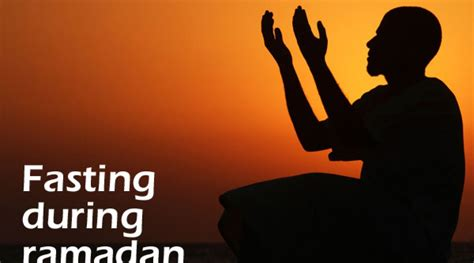 fasting time the fasting of ramadan a time for thought and