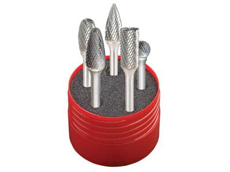 dormer tools dormer dor88001 solid carbide rotary burr cylindrical set