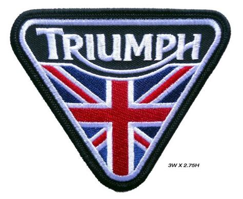 Vintage Triumph Embroidered Motorcycle Patch Jacket Kaos Kemeja Topi 91 best images about patches on embroidered patch morale patch and rockers