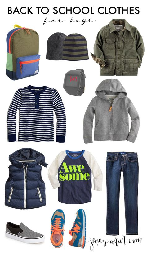 Back To School Wardrobe by Back To School Clothes 187 Collier