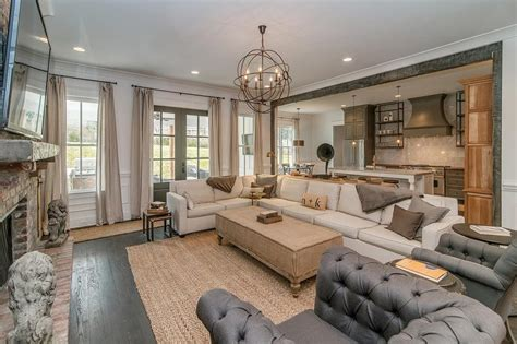 grey vintage living room ivory sectional with gray pillows vintage living room