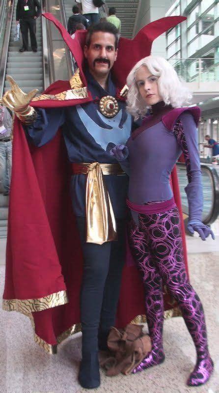 cosplays  couple doctor strange  clea  trivto