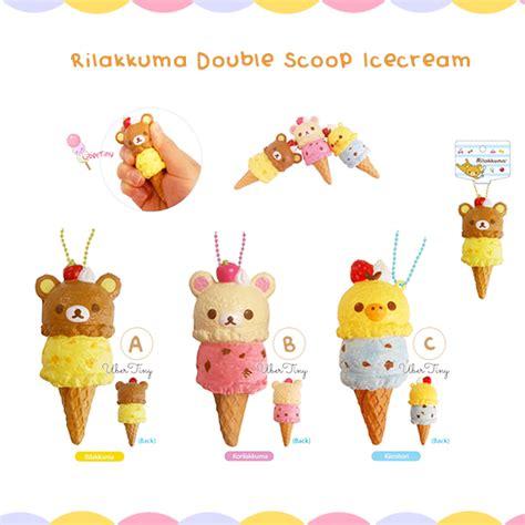 Squishy Hello Cafe Cup Original rilakkuma scoop icecream squishy licensed